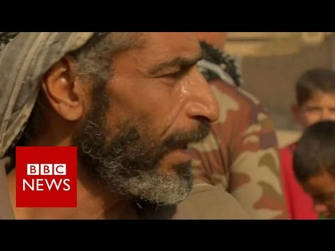 Battle for Mosul: IS 'herded human shields like sheep' - BBC News