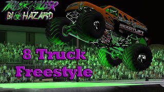 Truck Killer Biohazard 8 Truck Freestyle Competition (BeamNG.drive CRD 2.0)