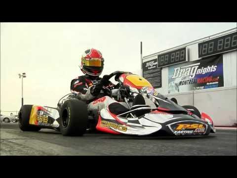Go Kart (kz2) Vs Ferrari Challenge Stradale