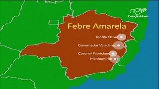 Aumenta o número de casos de febre amarela em Minas Gerais-CN Notícias