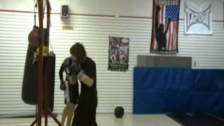 Hitting the bag (Bas Rutten Workout on MP3)