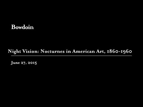 "Barbara Haskell: ""Night Vision: Nocturnes in American Art, 1860-1960"""