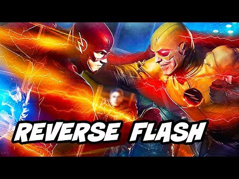 The Flash Season 5 Episode 19 Reverse Flash TOP 10 WTF and Easter Eggs