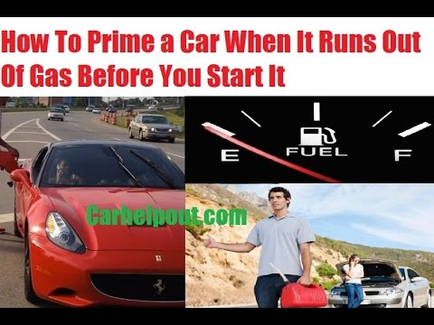 Mobile Mechanic Tips 29 How To Start A Car After Running Out Of Gas You