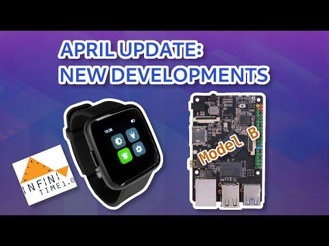 April Update: New Developments
