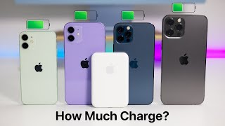 Apple MagSafe Battery Pack - How Much Does It Charge iPhone 12 and How Fast?