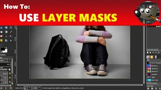 How to Use Layer Masks in GIMP | Using GIMP Tutorial