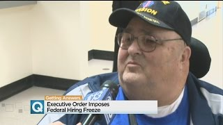 Trump Federal Hiring Freeze Likely To Hit Veterans, Retirees
