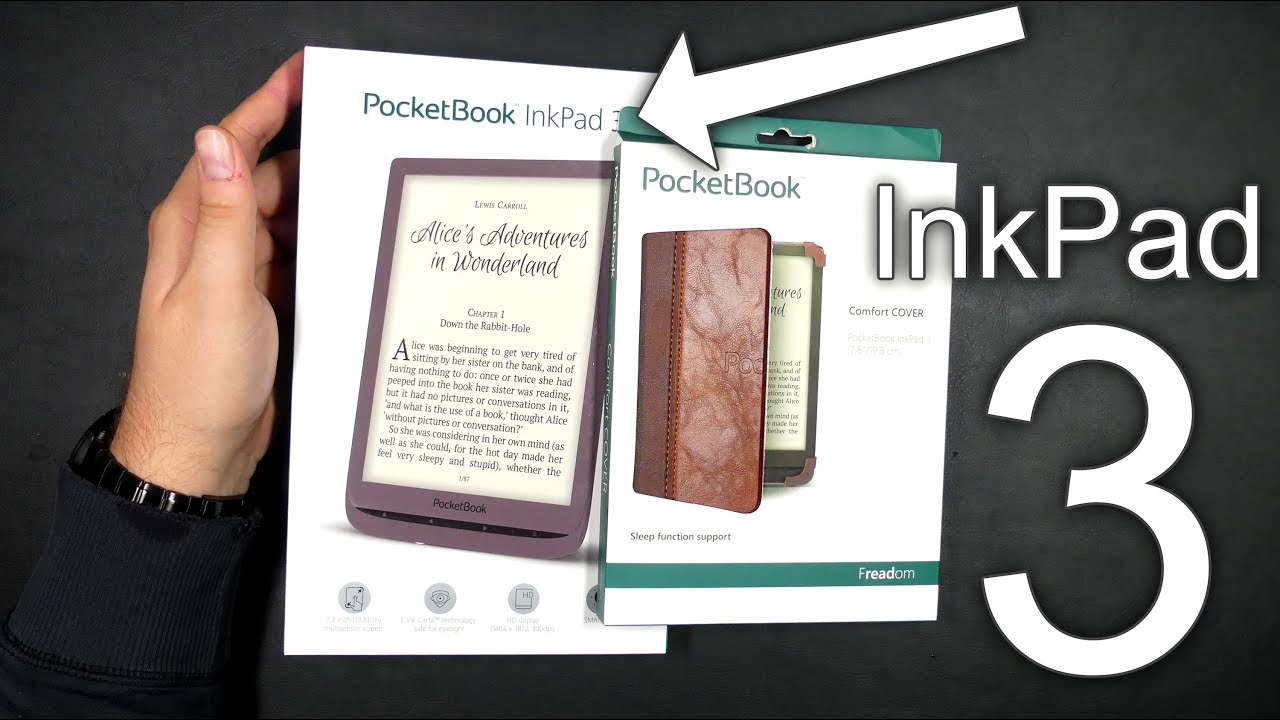 PocketBook InkPad 3 - Unboxing & First Look