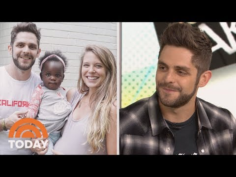 'Marry Me' Singer Thomas Rhett Talks Adoption, Family & Music on TODAY