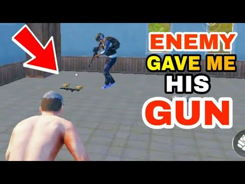 ENEMY gave me his GUN   PUBG FUNNY AND TROLLING MOMENTS