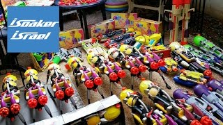 Water guns Armoury / Arsenal | My Super Soaker collection