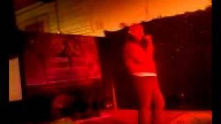 Debbie Singing Karaoke Mama He's Crazy by The Judds