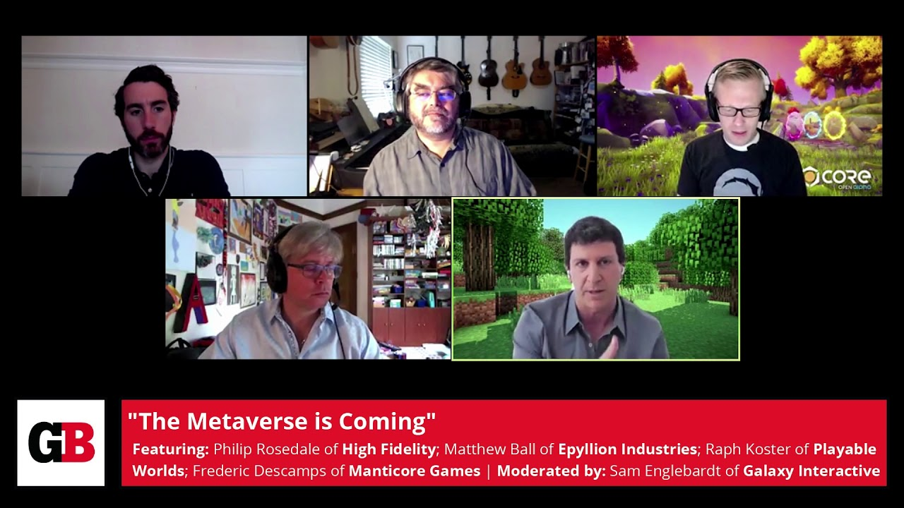 The Metaverse Is Coming
