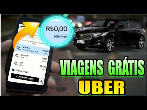 Faça Viagens Grátis no Uber Corridas a R$0,00 Reais