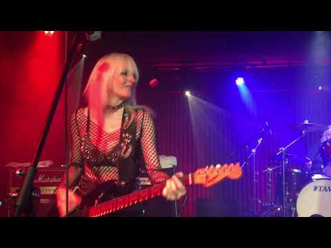 Girlschool Live @ The Basement, Canberra Australia 2019