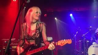Girlschool live @ The Basement, Canberra Australia 2019