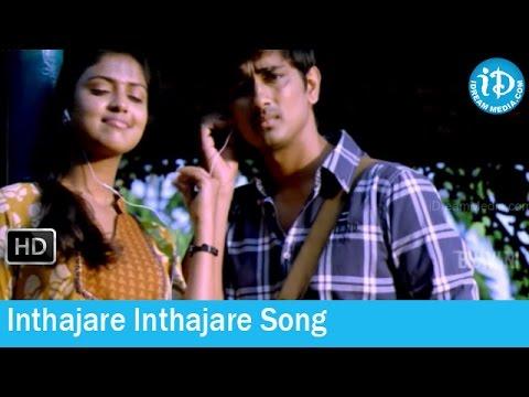 Inthajare Inthajare Song - Love Failure Movie Songs - Siddharth - Amala Paul