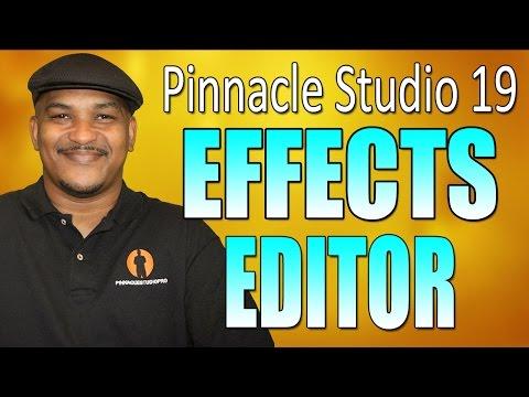 Pinnacle Studio 19 Ultimate   Effects Editor Tutorial