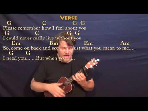 I Need You (The Beatles) Ukulele Cover Lesson with Chords/Lyrics - Capo 2nd