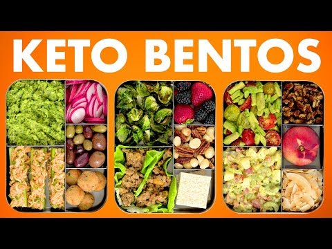 Low Carb Bento Boxes! Healthy Keto Recipes! – Mind Over Munch