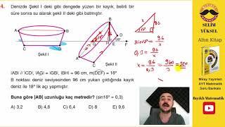 Trigonometri 19 Yeni Nesil SINAVA HAZIR OL (Miray Yayınları AYT Soru Bankası Çözümleri)