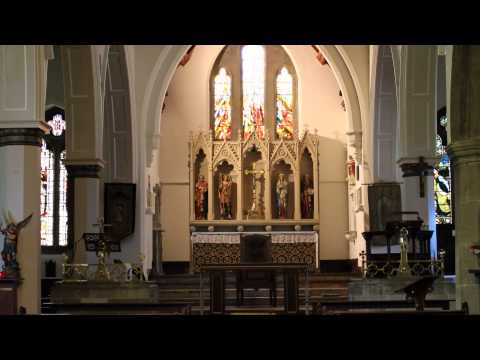 St Michaels Church In Lewes. 1080p HD