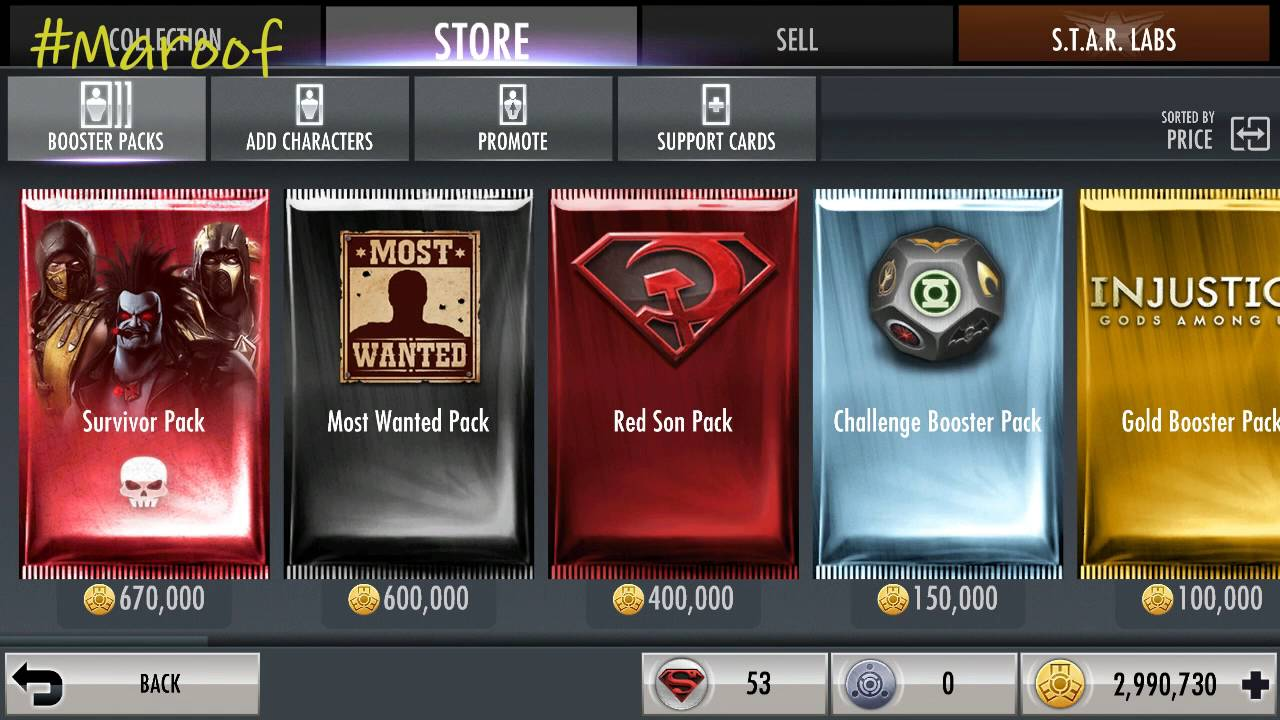 how to get red son pack injustice