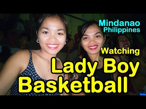 Lady Boy Basketball and Talented Pinoy | Town Fiesta Mindanao Philippines