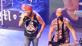 Bret Michaels Band - Look What The Cat Dragged In @ The District, Sioux Falls, SD 1/28/15