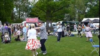 The Rocking Rebels Rock n Roll Jive Flash Mob