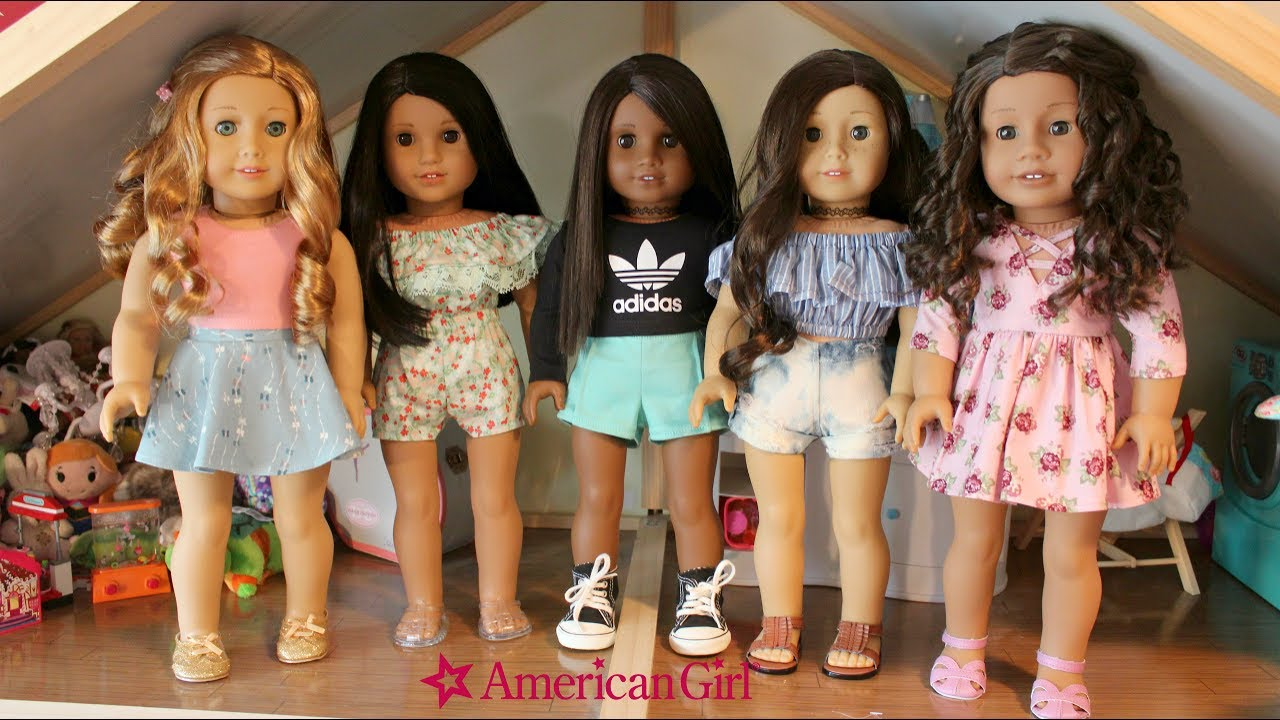 [VIDEO] - American Girl Doll Spring Outfits I Etsy Try On HAUL? 8
