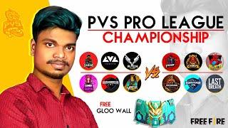 💥 Free Fire Live E Sports Grand Finals Tournaments PVS , Total Gaming , SQ , TC #PVS