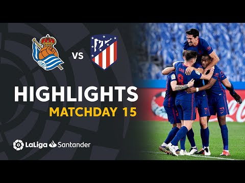 Real Sociedad Atletico Madrid Goals And Highlights