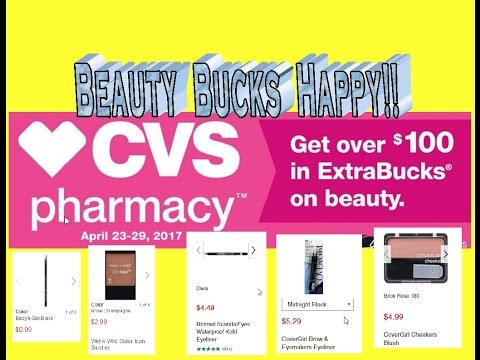 CVS Coupon Matchups for the week of 4/23/17! Beauty Buck Happy!!