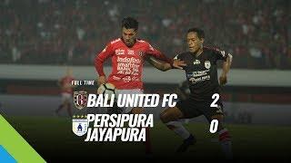 [Pekan 13] Cuplikan Pertandingan Bali United FC vs Persipura Jayapura, 9 Juni 2018