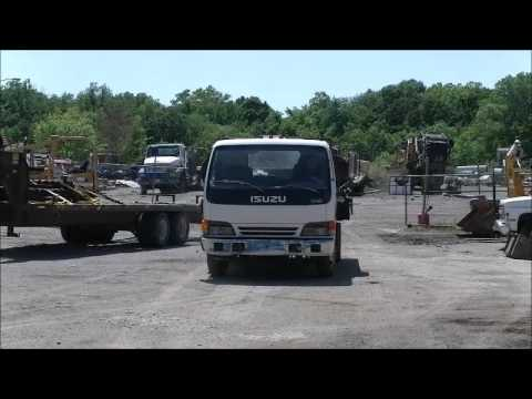 1999 Isuzu NPR Flatbed Truck For Sale