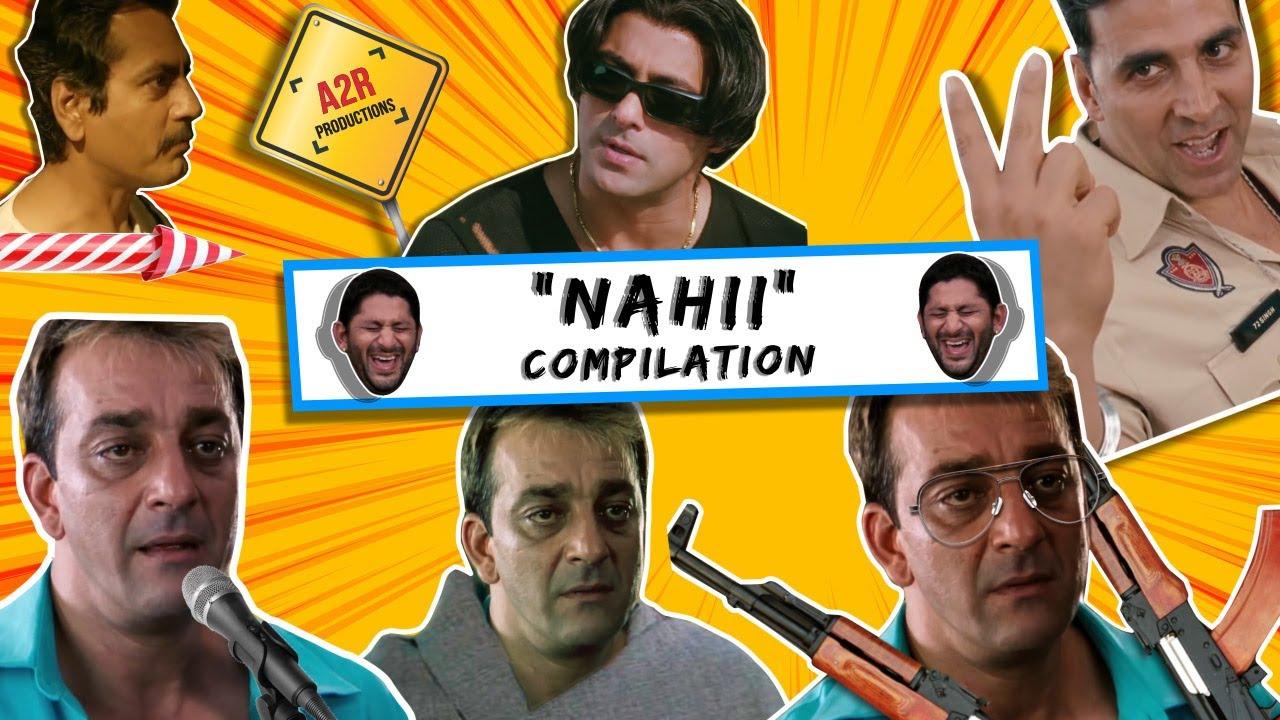 "Download Munna Bhai ""Nahi"" Compilation | A2R Productions | Sanjay dutt"