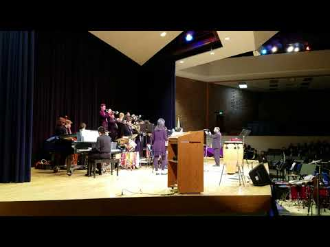 Penndale Middle School's Jazz Band plays Cottontail at Upper Moreland Middle School