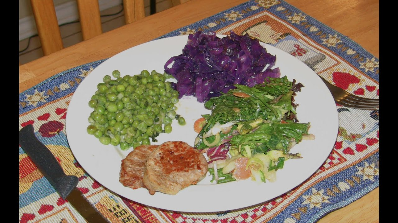 Schnitzel, Peas & Cabbage S3:E5 Chef Baba Cooking Show