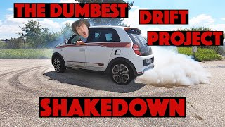 The Dumbest Drift Project: SHAKEDOWN