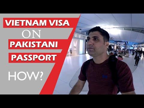 How to Get Vietnam Visa on Pakistani Passport?