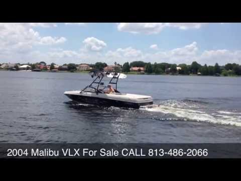 2004 Malibu Wakesetter VLX V-Drive wakeboard/ski boat $3,000 below nada!!!
