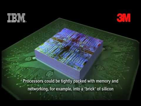 3M and IBM to Develop New Types of Adhesives to Create 3D Semiconductors