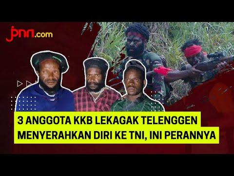 3 Anggota KKB Lekagak Telenggen Menyerahkan Diri ke TNI