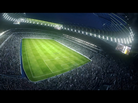 Tottenham Hotspur show off plans for new stadium – video