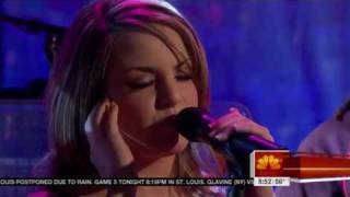 """JoJo - Interview & performance of """"Too little, too late"""" (Live at The Today Show)"""