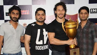 Tiger Shroff At Launch Of The Second Edition Of Super Soccer Tournament