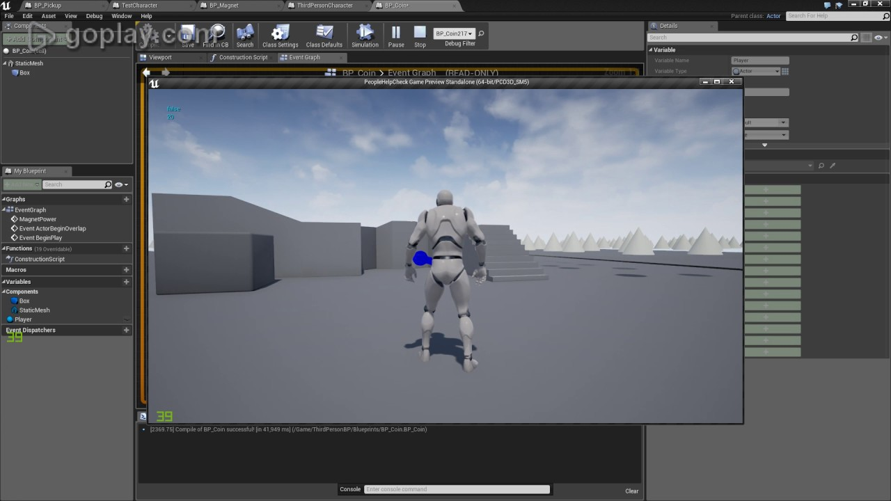 Unreal engine item magnet within range video 44 youtube unreal engine item magnet within range video 44 malvernweather Choice Image