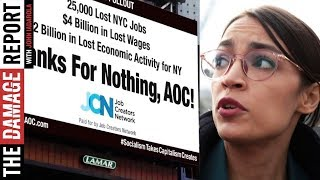 Alexandria Ocasio-Cortez Attacked With Billionaire Billboard
